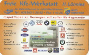 Freie Kfz-Werkstatt H. Lönnies